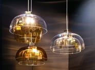 Blown glass pendant lamp STAIRS - Lasvit