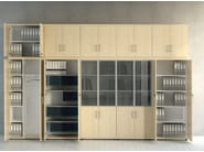Office shelving with lock STANDARD   Office shelving - MDD