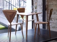 Solid wood dining table STEALTH | Table - HOOKL und STOOL