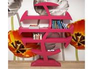 Wall-mounted Adamantx® bookcase STEVENSON - ZAD ITALY