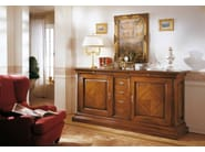Solid wood sideboard with doors with drawers STILE | Sideboard - Arvestyle