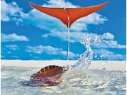 Freestanding shade sail STINGRAY - TUUCI