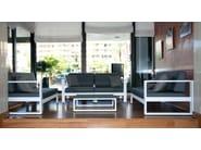 Divano in alluminio in stile moderno a 2 posti a 3 posti a 4 posti STOCKHOLM | Divano modulare - Sérénité Luxury Monaco
