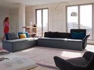 Corner fabric sofa STREAM | Corner sofa - Palau