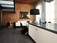 Full-body porcelain stoneware wall/floor tiles with wood effect STREAMING - Ceramiche Marca Corona