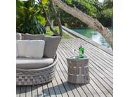 Tavolino da giardino rotondo per contract STRIPS 23207 - SKYLINE design