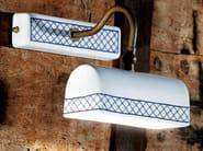 Ceramic wall lamp with fixed arm STUDIO   Ceramic wall lamp - Aldo Bernardi