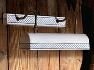 Ceramic wall lamp with fixed arm STUDIO | Wall lamp - Aldo Bernardi