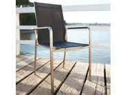 Stackable chair with armrests STUDIO - solpuri