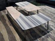 Marble coffee table for living room SUERTE - ERBA ITALIA