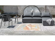 3 seater fabric garden sofa SUITE | 3 seater sofa - FISCHER MÖBEL