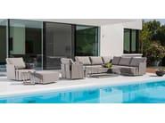 Sectional garden sofa SUITE | Garden sofa - FISCHER MÖBEL