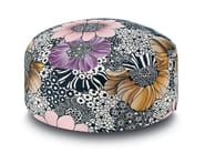 Fabric pouf with removable lining SULAWESI | Pouf - MissoniHome
