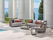 2 seater teak garden sofa SWING | 2 seater sofa - Ethimo