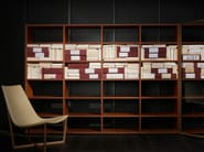 Open sectional wooden bookcase SYSTEM 2014 - Porro