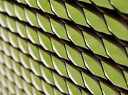 Expanded metal Stretched mesh for facade finish FAÇADE - METAL DEPLOYE