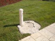 Natural stone Drinking fountain Small fountain 2 - Garden House Lazzerini