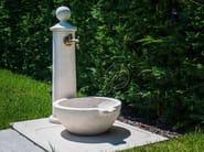 Natural stone Drinking fountain Small fountain 4 - Garden House Lazzerini
