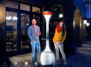 Electric outdoor heater SOLE - Enjoy your Life by Idrobase Group