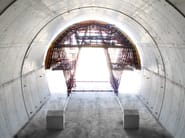 In situ concrete loadbearing masonry system Special tunnel formwork - Condor