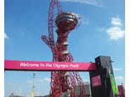 Orbit Tower Londres  - Arcelor