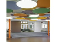 Sound insulation and sound absorbing panel for false ceiling StoSilent Modular - Sto Italia
