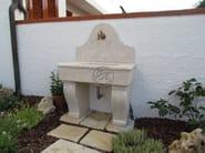 Natural stone sink Stone sink 3 - Garden House Lazzerini