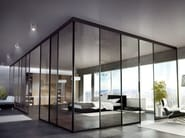 Sliding glass office partition Suite Partition | Interno Doors - Interno Doors