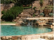 In-Ground natural stone swimming pool Swimming pool 13 - Garden House Lazzerini