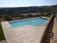 In-Ground natural stone swimming pool Swimming pool 2 - Garden House Lazzerini