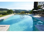 In-Ground natural stone swimming pool Swimming pool 9 - Garden House Lazzerini