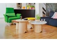 Chestnut coffee table TAB | Coffee table - SANCAL