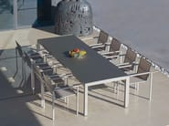 Tavolo da giardino rettangolare TABOELA | Tavolo rettangolare - ROYAL BOTANIA