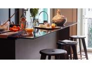 Wooden stool TABOURET HAUT - Vitra