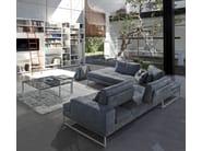 Corner modular leather sofa TALINE | Corner sofa - ITALY DREAM DESIGN - Kallisté