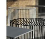 Low lacquered round coffee table TAMBURO - Atipico