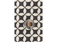 Glazed stoneware flooring TANGLE GREY | Flooring - ORNAMENTA