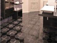 Marble wall/floor tiles TANGLE - Lithos Mosaico Italia - Lithos