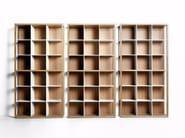 Freestanding sectional modular bookcase TANI MOTO - DE PADOVA