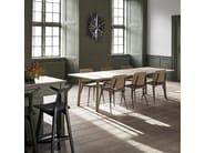 Rectangular oak table TARO - FREDERICIA FURNITURE