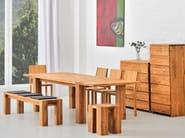 Solid wood stool TAURUS | Stool - vitamin design