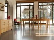 Extending rectangular cherry wood table '900 FLAMINIA | Table - Morelato