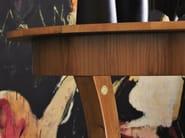 Extending round cherry wood table BIEDERMEIER | Round table - Morelato