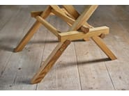 Square oak table LEONARDO - Morelato