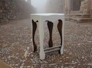 Polyurethane garden stool TAZZO - POLaRT