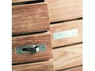 Teak shoe cabinet TEAK HORIZON | Shoe cabinet - Ethnicraft