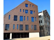 Metal sheet and panel for facade TECU® Bronze - KME Architectural Solutions