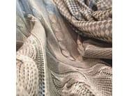 Solid-color Trevira® CS upholstery fabric TEIDE MINERAL - Gancedo