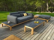 3 seater fabric garden sofa TEKURA   Sofa - Les jardins