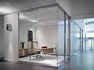 Rectangular executive desk TEN UP EXECUTIVE - Sinetica Industries